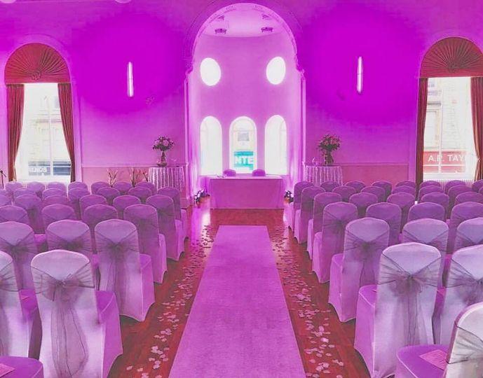 Main Hall Wedding Ceremony
