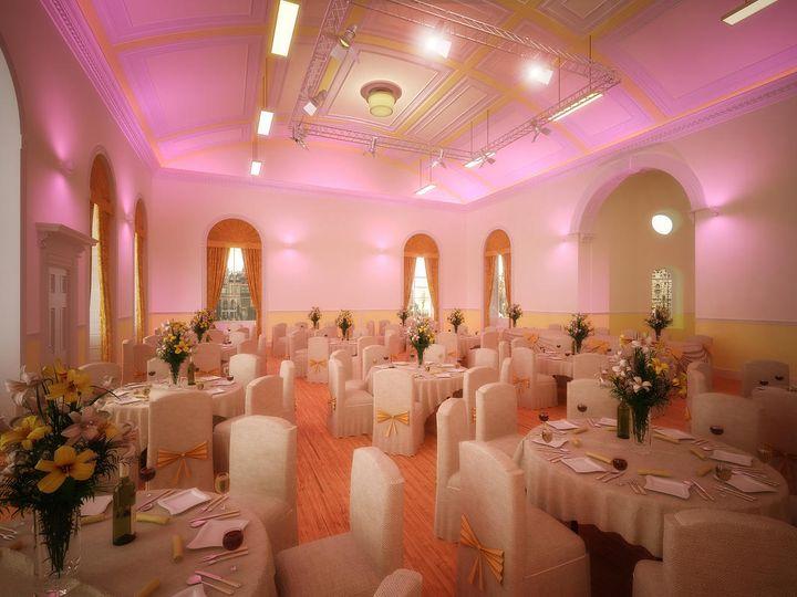 Main Hall Wedding Reception