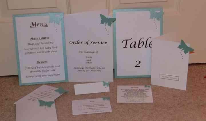 Unique Handmade Wedding Stationery