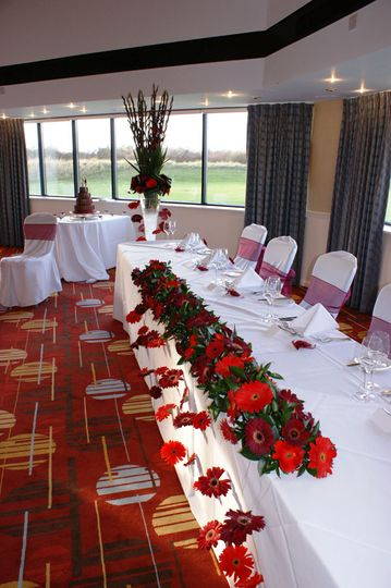 Top Table Floral Decorations
