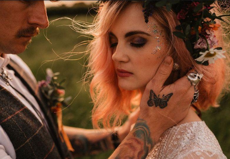 Festival bride featured shoot.