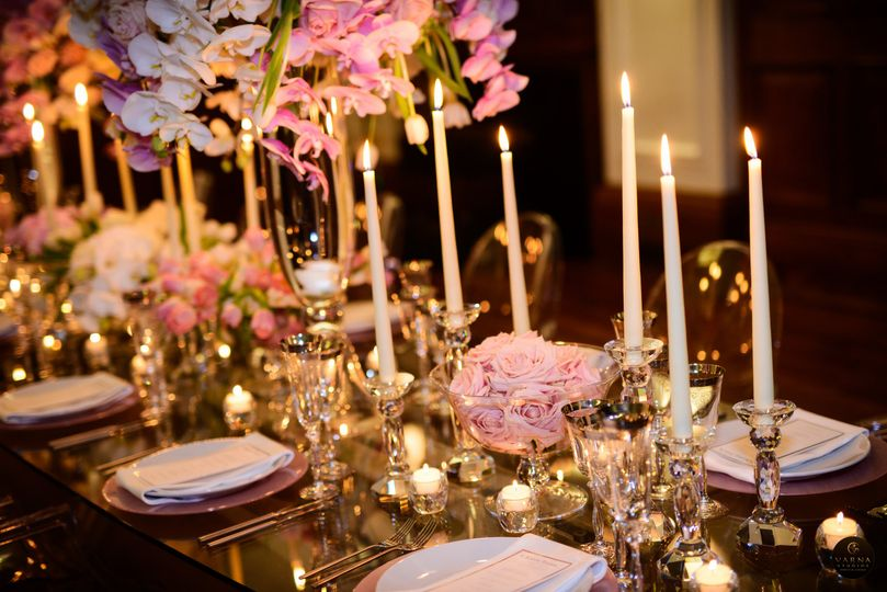 Elegant and classy tablescapes