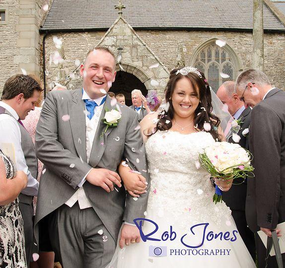 Laleston church wedding