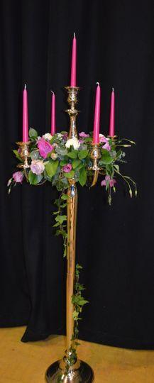 Floor standing candelabra