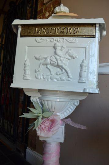 Vinatge wedding card post box