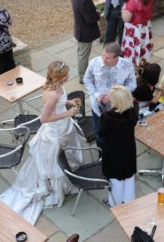 Bride from the Balcony
