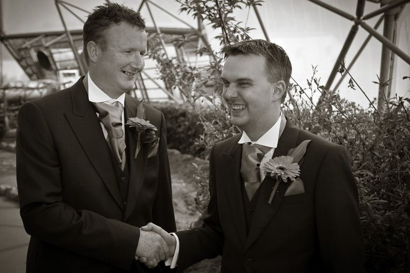 Best man & the groom