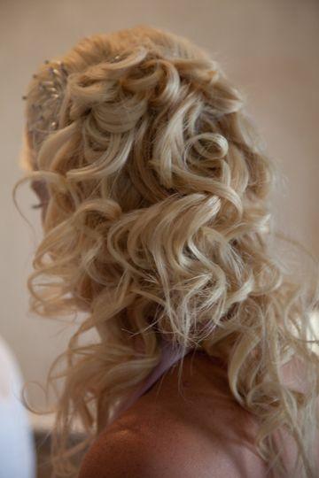 Bridesmaids hair by Bling