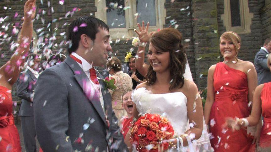 Wedding Video Dorset, Confetti