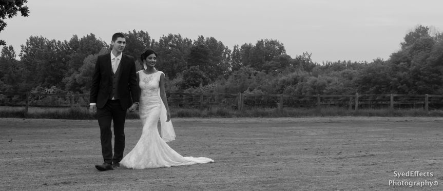 Post wedding walk