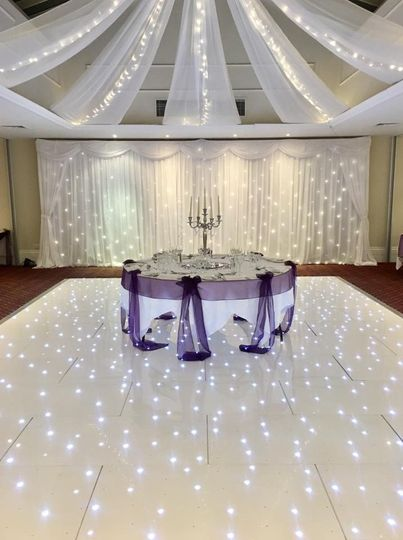 Stunning top tables
