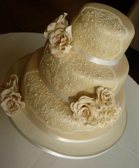 Cascading Blossom From The Pretty Cake Company