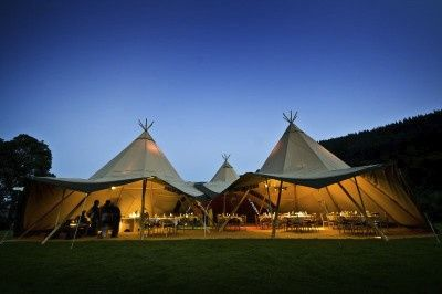 Event in a Tent Bala Lake Bala Lake Summer wedding Summer wedding Big hats & Event in a Tent