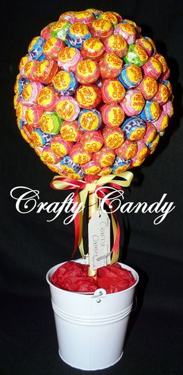 Crafty candy Chupa Chup tree