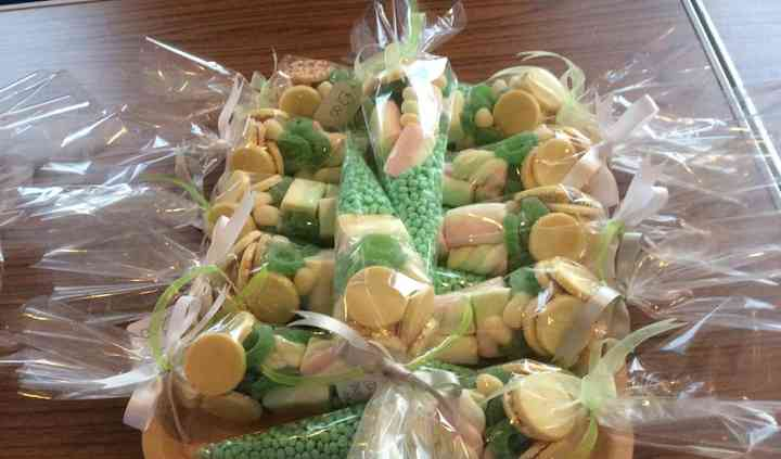 Craft candy sweet cones bags