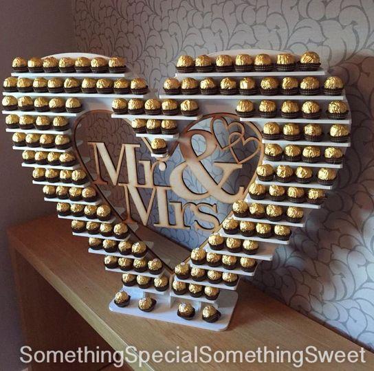 Large Ferrero heart