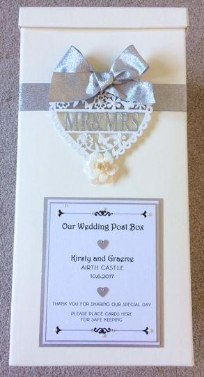 Mr & Mrs Wedding Postbox