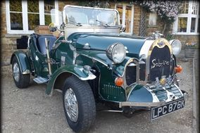 Classic Retro Wedding Car Hire