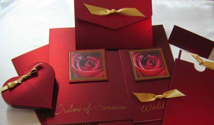 Shades Of Gold Wedding Stationery