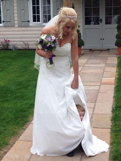 Real bride Emily Smith