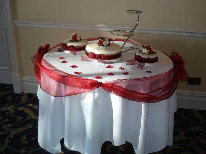 Cake Table Swag Sash