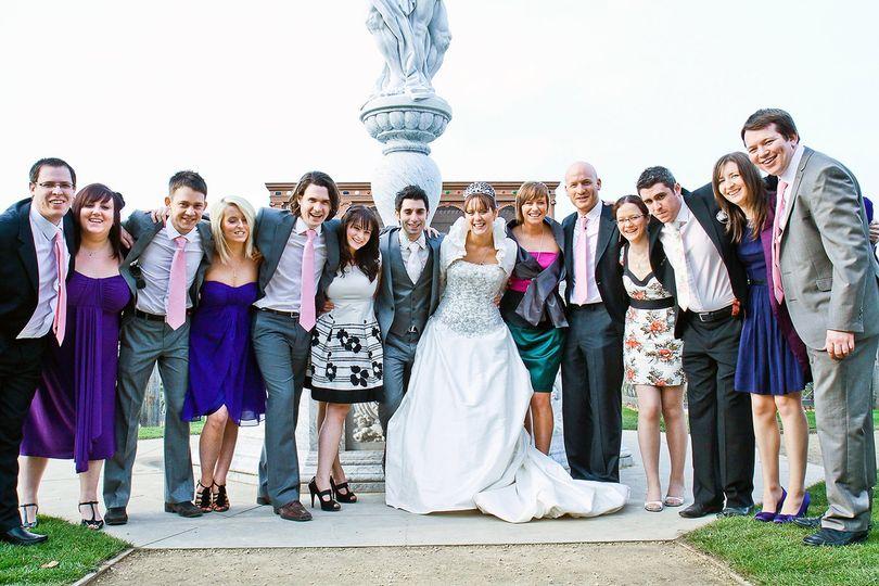 Wedding at Kenilworth Castle