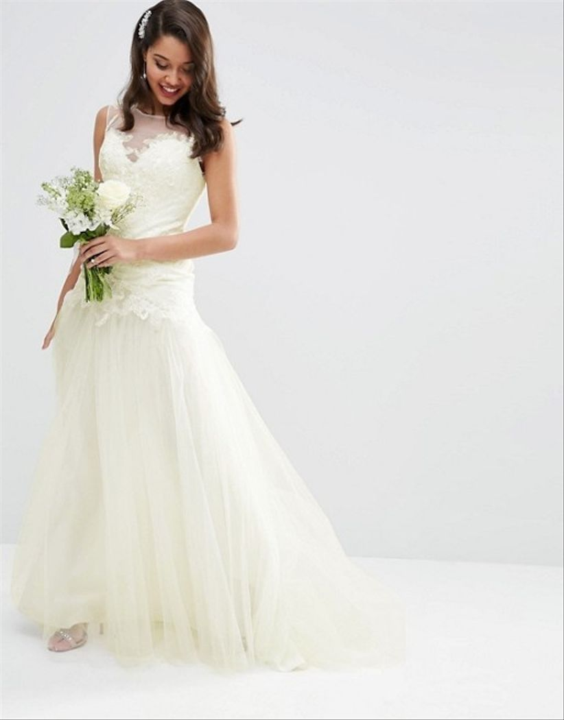 Asos Wedding Dress.25 High Street Wedding Dresses For Every Type Of Bride