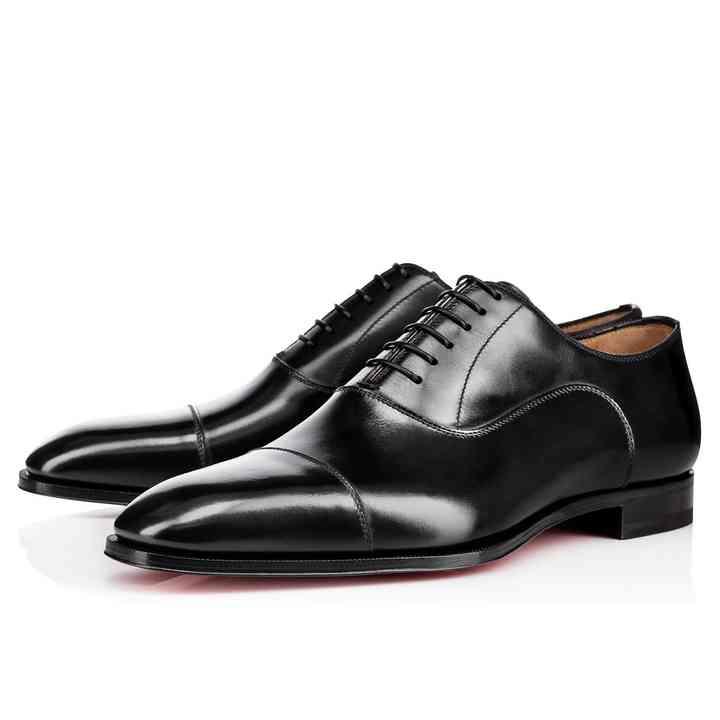 mens wedding shoes black