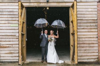 How to Prepare for a Rainy Wedding Day