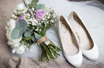 30 Flat Wedding Shoes That Won't Kill Your Feet
