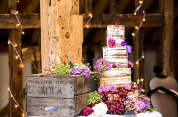6 Naked Wedding Cake Ideas