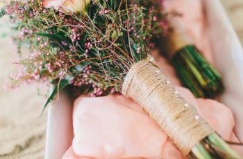5 Gorgeous Wedding Bouquet Wrap Ideas