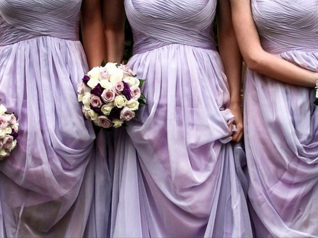 Lovely Lilac Bridesmaid Dresses