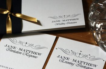 Evening wedding invitations: everything you need to know