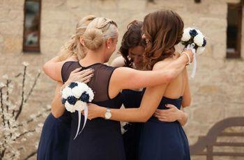 Gorgeous Navy Bridesmaid Dresses