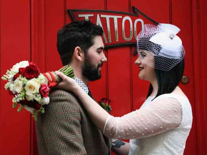 How to Create a Retro Bridal Look