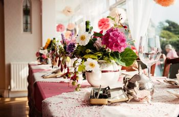 30 Stunning Wedding Table Flowers