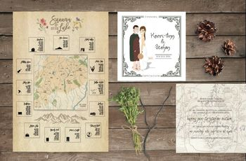 5 Personalised Wedding Invitations That Truly Impress