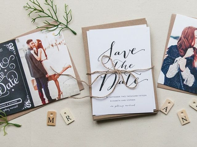 50 of the Most Beautiful Save the Date Cards