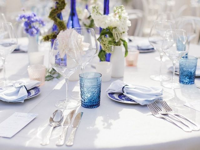 6 Types of Linens You'll Need for Your Wedding Reception Tables