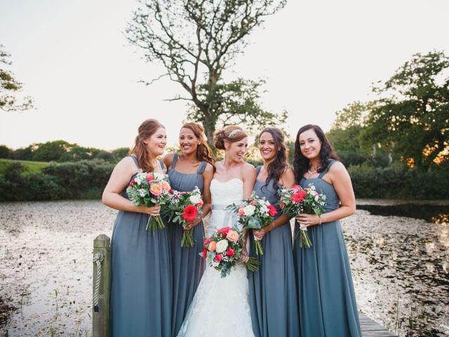 Stunning Grey Bridesmaid Dresses
