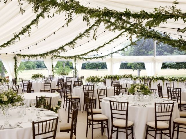 Beautiful marquees for your open-air wedding