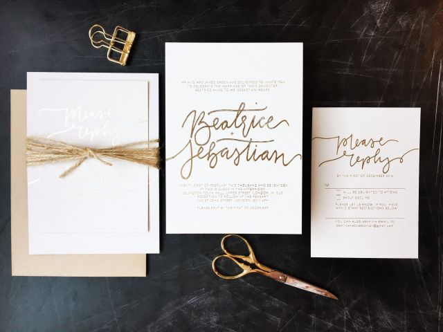 5 Things You Need to Do Before Sending Your Wedding Invitations