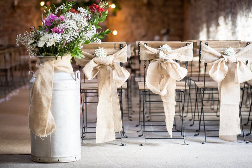 20 Wedding Chair Decoration Ideas