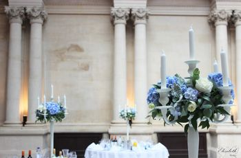 Blue Wedding Flowers You'll Fall in Love With