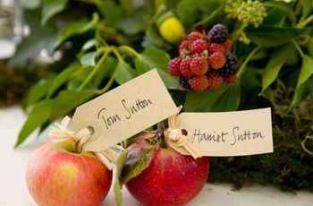 5 Ways to Use Fruit in Your Wedding Decor