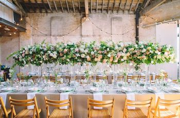 45 unique wedding table ideas