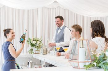 How to Stock Your Wedding Bar