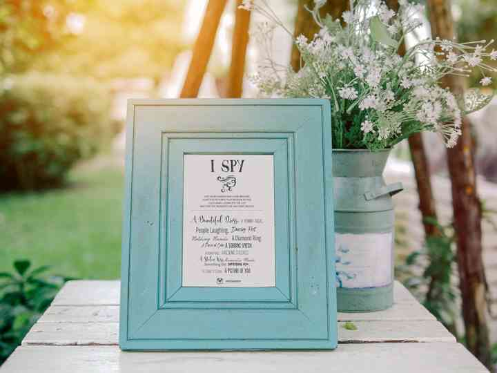 How to Nail Your I Spy Wedding Game