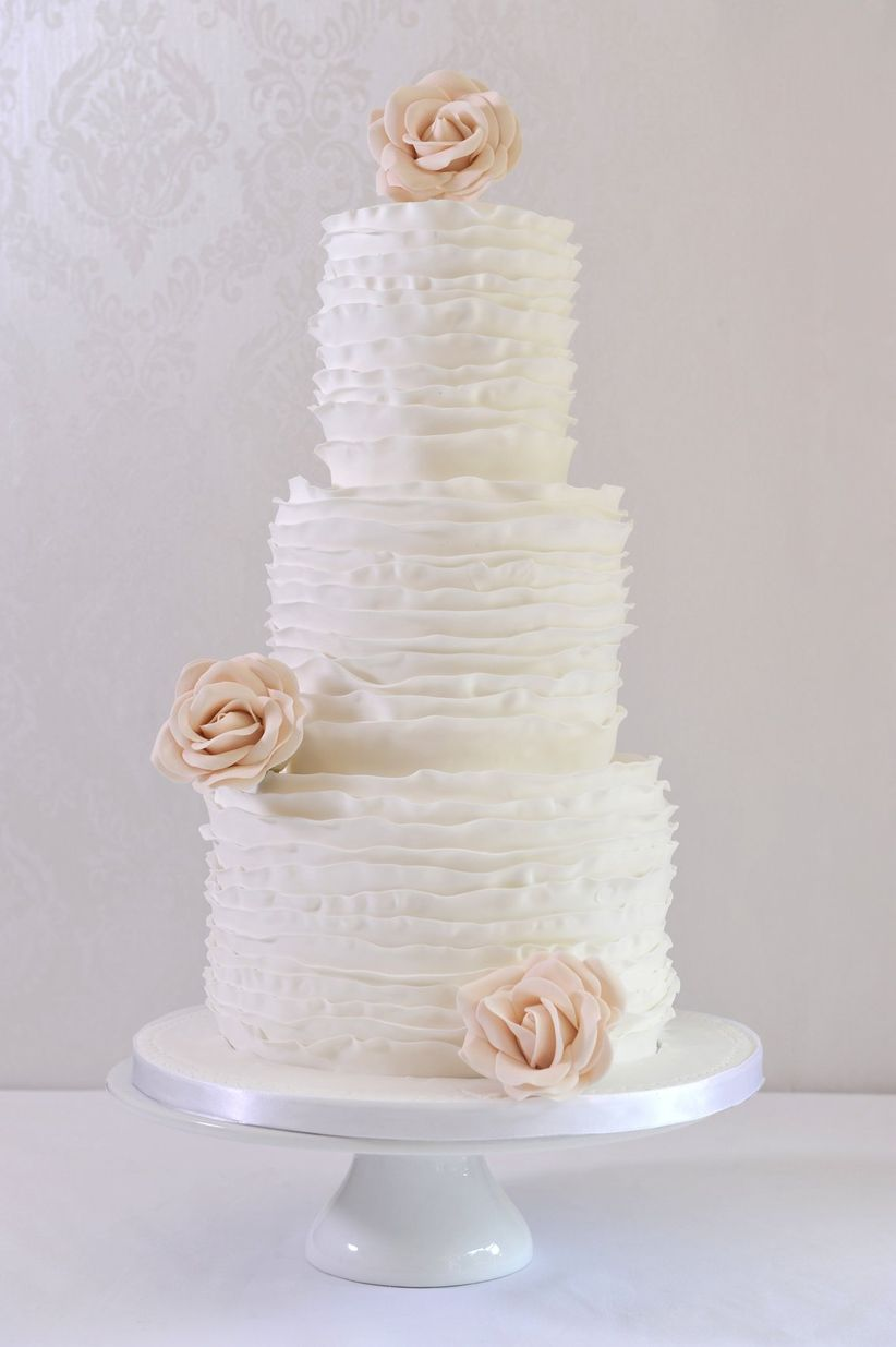 8 Delicious Wedding Cake Designs